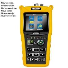 "VF 6800 SatFinder Meter Dvb t2/DVB S2/DVB C Combo Satellite Finder Dvb t2 Receiver Satellite Satfinder 2.4""Color LCD Screen"