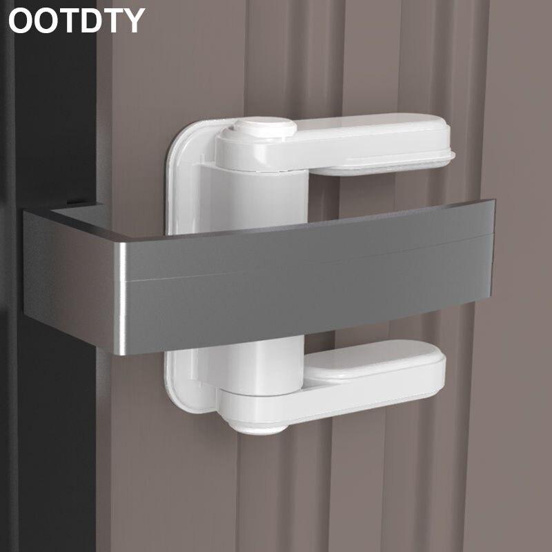 Baby Home Security Lock Door Lever Children Kids Protective Handle Universal Safety Locks