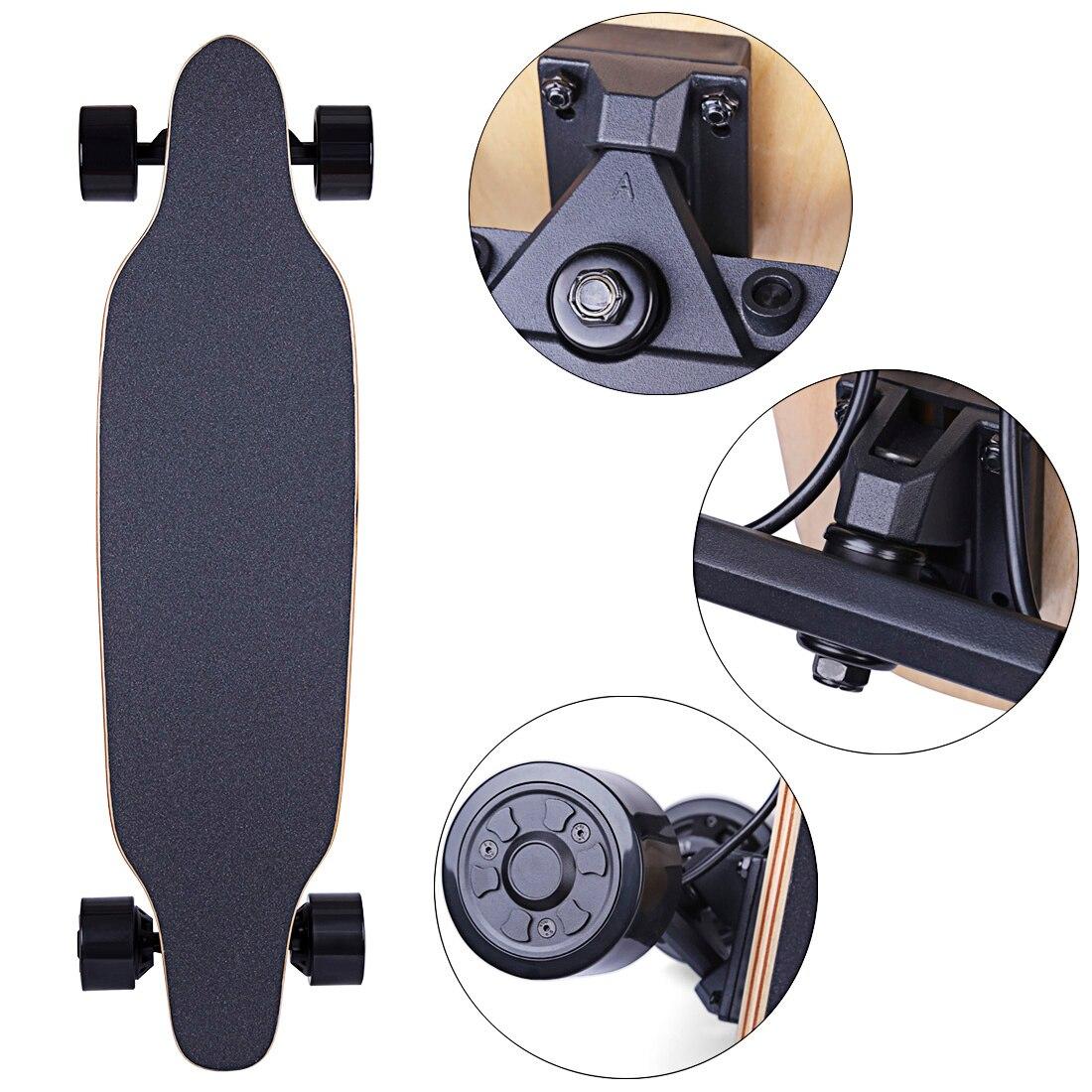 4-Wheel Electric Skateboard With Endurance Distance 30km - AU/UK/EU/US Plug