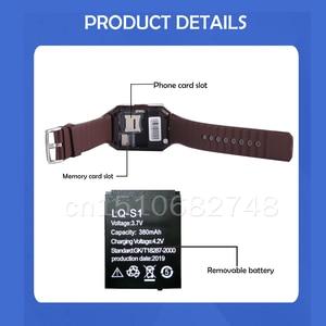 Image 5 - Smart Watch Batterij LQ S1 3.7V Oplaadbare Batterij 380Mah Voor Smart Watch Mode Meter QW09 DZ09 W8 A1 V8 X6 Lithium batterijen
