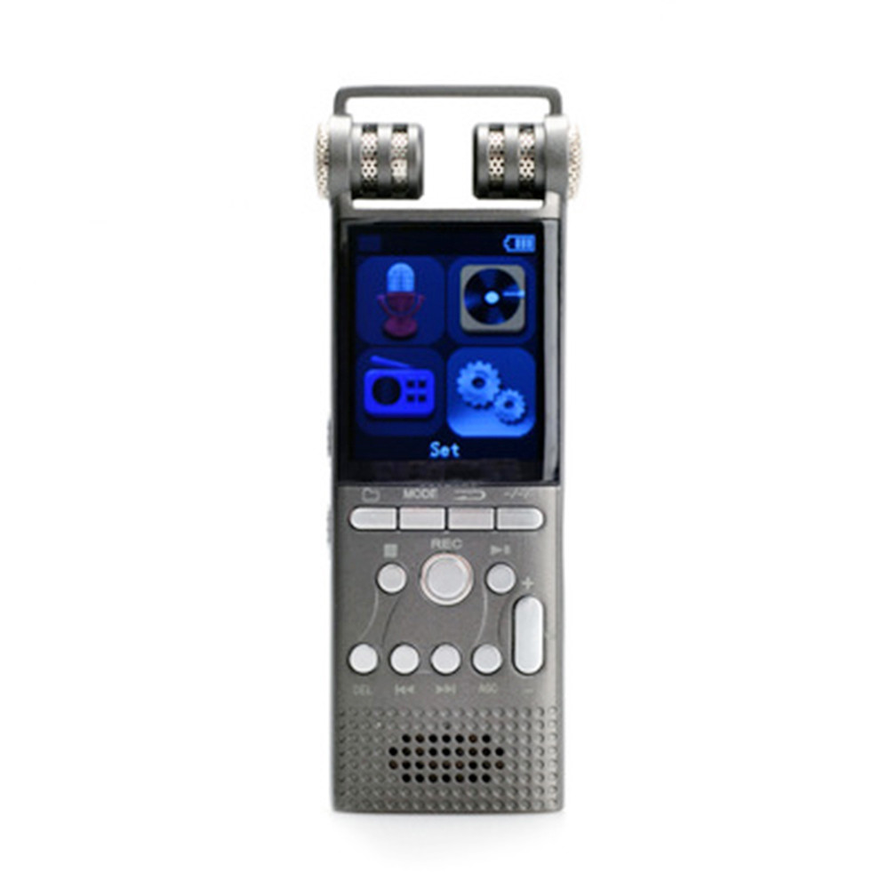 Professional Voice Activated Digital Audio Voice Recorder 16GB 32G USB Pen Recording PCM 1536Kbps,Support TF-Card