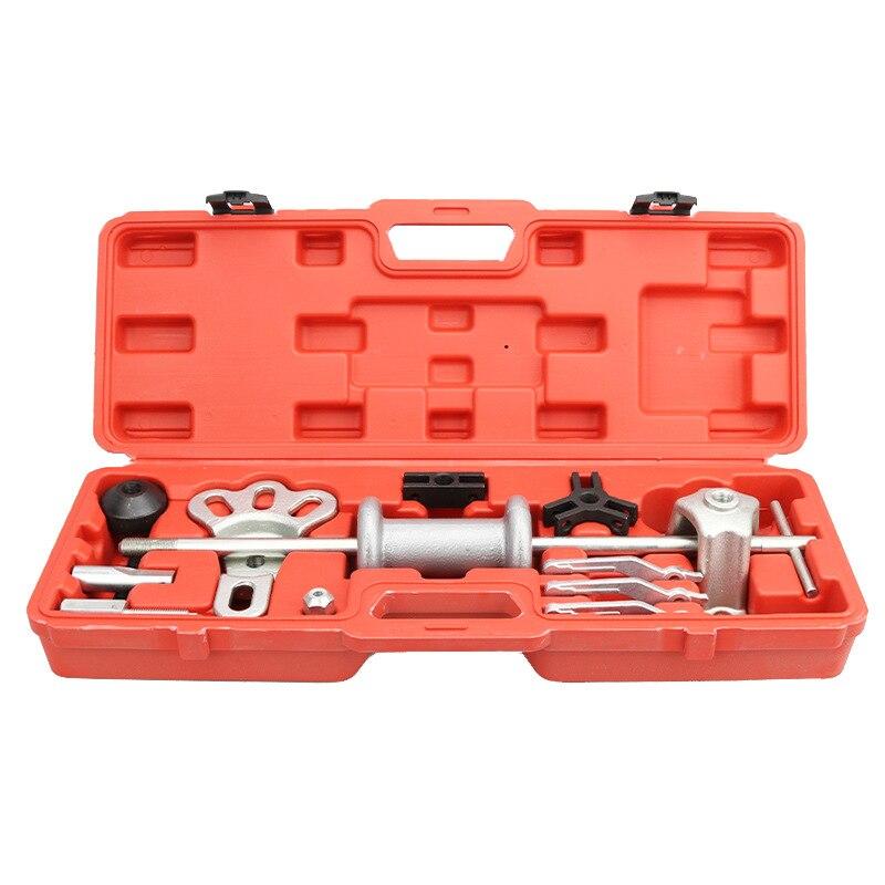 16PC Slide Hammer Puller Set/Heavy Duty Steel Slide Hammer Pilot Bearing Removal Tool Set