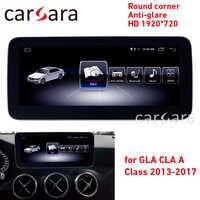 Android radio EINE w176 touch sreen CLA w117 GPS navi GLA X156 runde ecke anti-glare HD 1920*720 display dash multimedia player