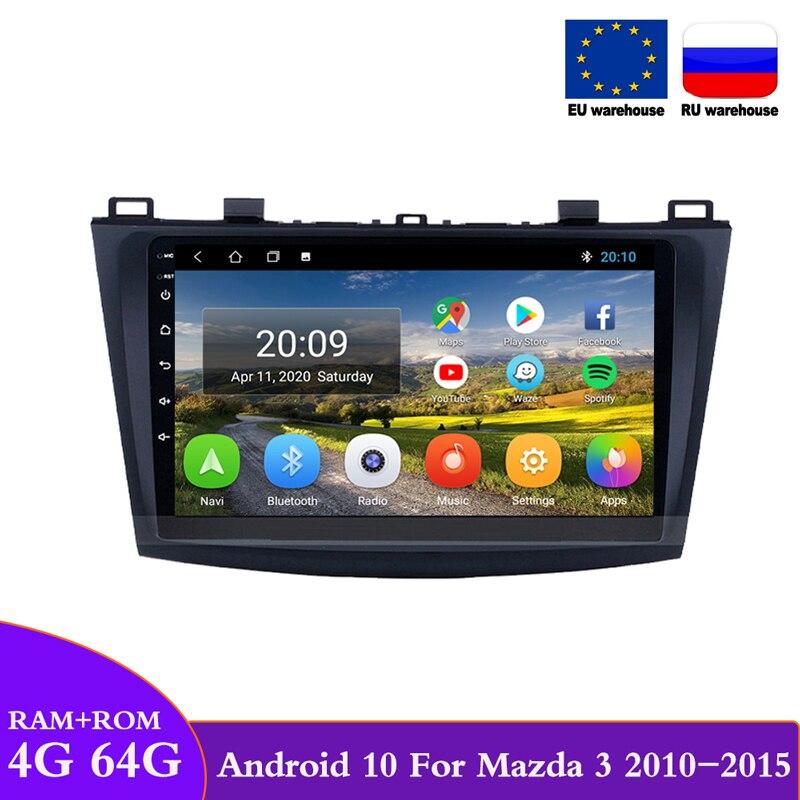 DOVOX-Radio Multimedia con GPS para coche, Radio con reproductor, Android 10, 2 Din, para Mazda 3, 2010, 2011, 2012, 2013, 2014, 2015