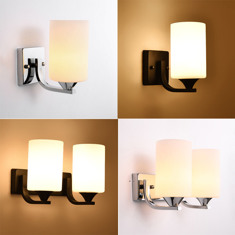 Nordic Creative Personality Simple Led Wall Lamps Living Room Bedroom Bedside Children's Room Antler Wall Light Fixture