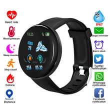 Rovtop Смарт-часы 116 плюс часы сердечного ритма D18 смарт-браслет D18 спортивные часы D13 смарт-браслет для мужчин и женщин Смарт-часы Android
