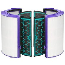 цена на For Dyson Air Purifier Accessories Tp04 Dp04 Hp04 Hepa Filter + Activated Carbon Filter Accessories Set