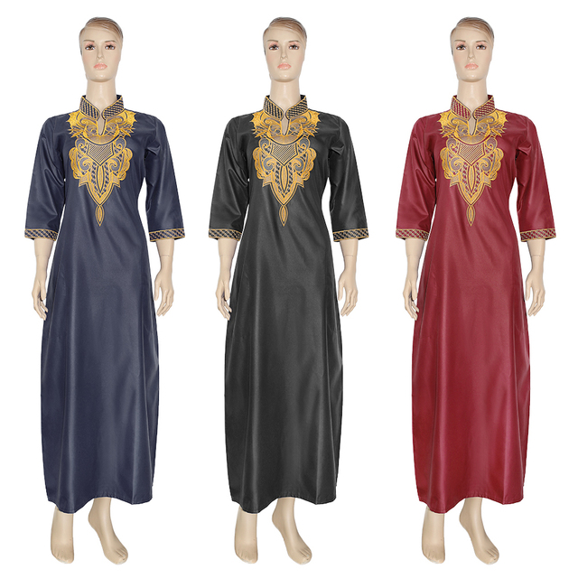 MD רקום פרח אפריקאי שמלות לנשים 2020 Bazin Riche דרום אפריקה בגדי גבירותיי שמלות אנקרה דאשיקי חלוק Boubou