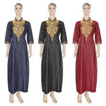 فساتين إفريقية مطرزة بالزهور من MD للنساء لعام 2020 ملابس بازان ريتشي من جنوب أفريقيا فساتين للسيدات فساتين أنقرة Dashiki رداء بوبو