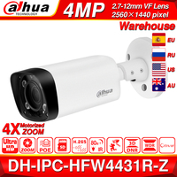 Dahua IPC HFW4431R Z 4MP Night Camera 80m IR 2.7~12mm VF lens Zoom Auto Focus Bullet H.265 IP Camera CCTV Security POE Dahua OEM
