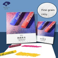 Paul Rubens  240G 30Sheets Oil Pastel Drawing Paper Pad Professional Thickened Painting Paper Pad for Oil Pastel Art Supplies
