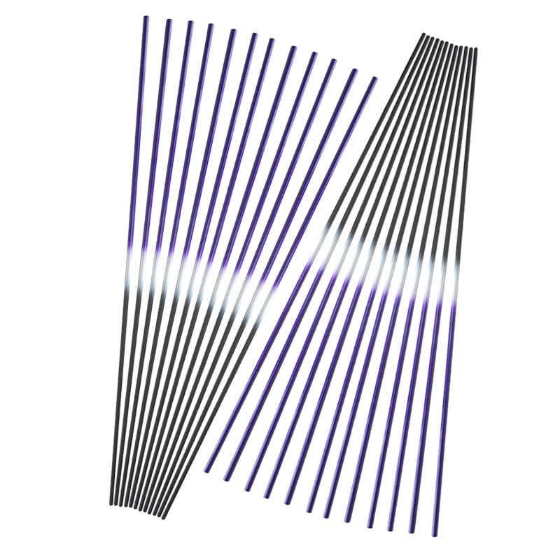 6/12 pièces tir à l'arc pur carbone flèches arbre 30 pouces ID 6.2mm 250/300/350/400/450/500/550 colonne vertébrale bricolage chasse arc et flèche accessoires