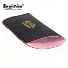 Eyewear Accessories Reading Glasses Soft Bag Clip on Sunglasses Bags Rui Hao Eyewear Brand Leatherette Soft Box(China)