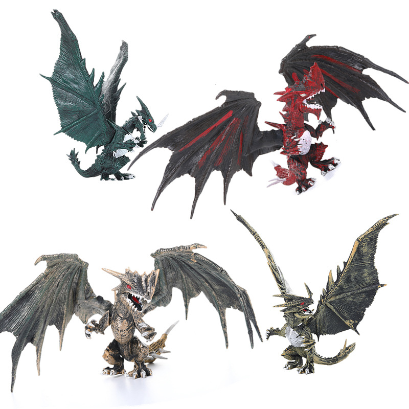 1Pcs 15cm Simulation Magic Dragon Dinosaurs Archaeopteryx PVC Solid Action Figure Toy Doll Model Decoration Kid Adult Gift