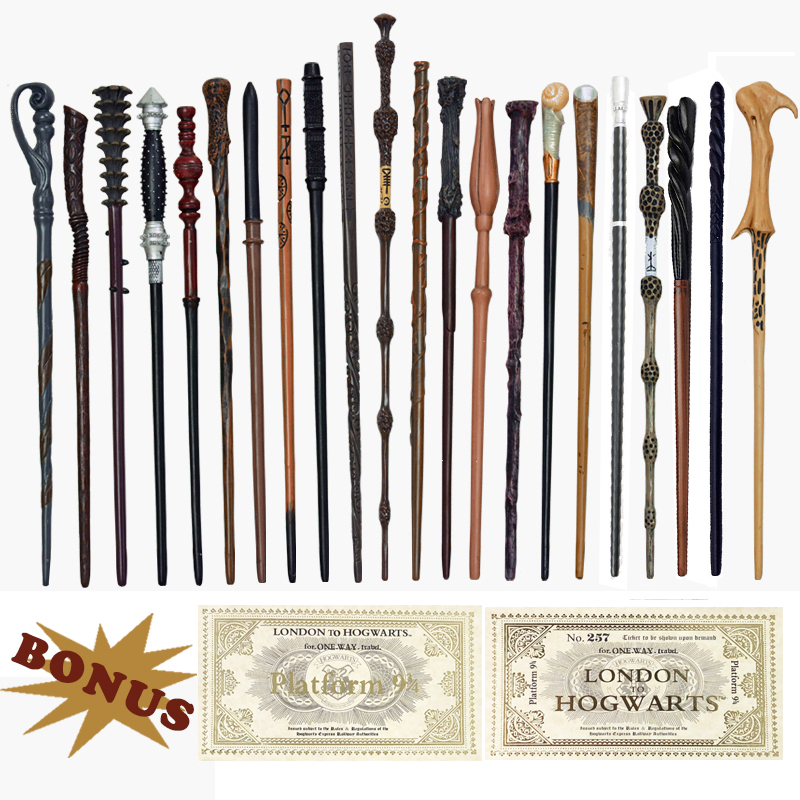 28 Kinds Of Metal Core Potters Magic Wands Cosplay Voldemort Hermione Magical Wand Harried Hogwart Tickets As Bonus Without Box