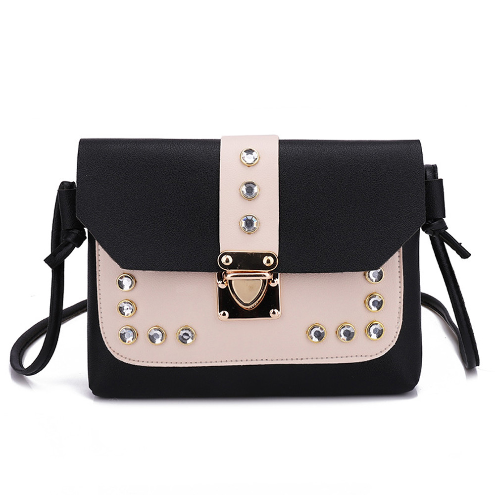 Small Crossbody Bags For Women 2019 New Fashion Rhinestone Shoulder Bag Messenger Satchel Tote Crossbody Bag Torebki Damskie