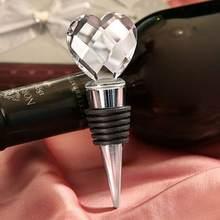 Garrafa de vidro de cristal rolha de armazenamento de vinho tampa da torção plug reutilizável vácuo selado garrafa tampa champanhe rolha presentes de vinho barra ferramentas
