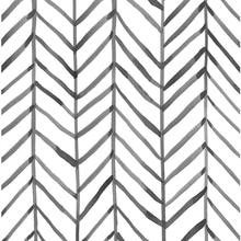 Modern Stripe Peel And Stick Wallpaper Herringbone Black White Vinyl Self Adhesive Contact Paper For Kidroom Bedroom Home Decor