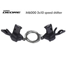 Shimano SL-M6000 Deore 10Spd Right Shifter 10-Speed MTB Shifting Levers 10Speed запчасть shimano передняя deore для fc m590 10 m612 24t ae
