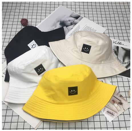 Thefound Fashion Small-Face Bucket Hat 2019 New Streetwear Cap For Women And Man Cute Fishman Hats Harajuku Japanese Bucket Hats