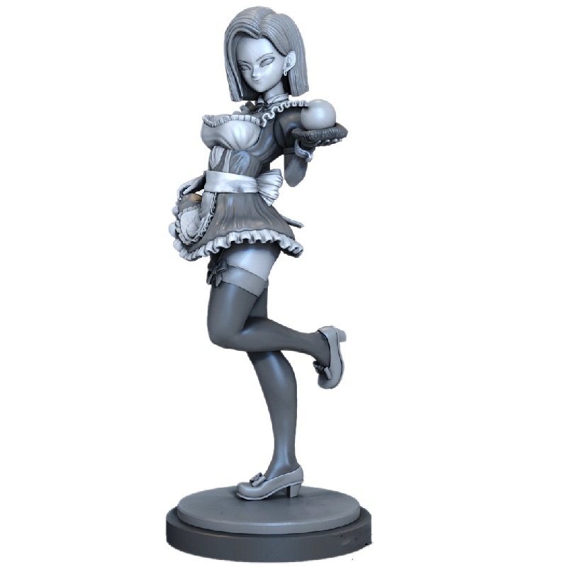 1/6  31CM  3D Printing Poison Japanese Girl Garage Kit GK Model Unpainted  ,White-Film Gifts And Collection To Painter A063