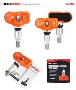 Image 5 - Autel Sensor MX Universal para programación de presión de neumáticos, herramienta TPMS, 433MHz, 315MHz, 4 Uds.