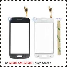 """4.3 """"dla Samsung Galaxy DUOS Star Advance G350E SM G350E z ekranem dotykowym Digitizer czujnik zewnętrzny szklany obiektyw Panel czarny biały"""