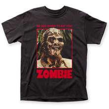 2019 Crossfit T Shirts Lucio Fulci Zombi 2 Zombie Movie We Are Going To eat You T-shirt S M L XL 2XL 3X Hot Sale Casual Clothing