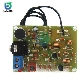 DC 3-6V FM Transmitter Module 88-108MHz FM Frequency Modulation Wireless Microphone Module Transmitter Board DIY Parts fm micro smd radio diy kit frequency modulation electronic production training