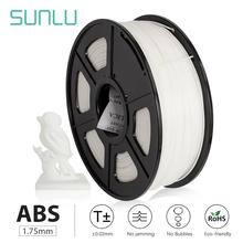 SUNLU 1KG 1.75MM ABS filament fast delivery colorful filament spool wire reprap 3D printer 1.75mm 1KG per roll 1kg d xylose page 10