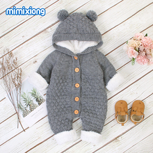 Baby Rompers Knitted Infant Boys Girls Jumpsuits Autumn Wint