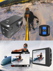 NEW HDMI LCD display Sports Camera SOOCOO F500 4K WIFI Action Sports Camera Ultra HD Waterproof Underwater DV Camcorder