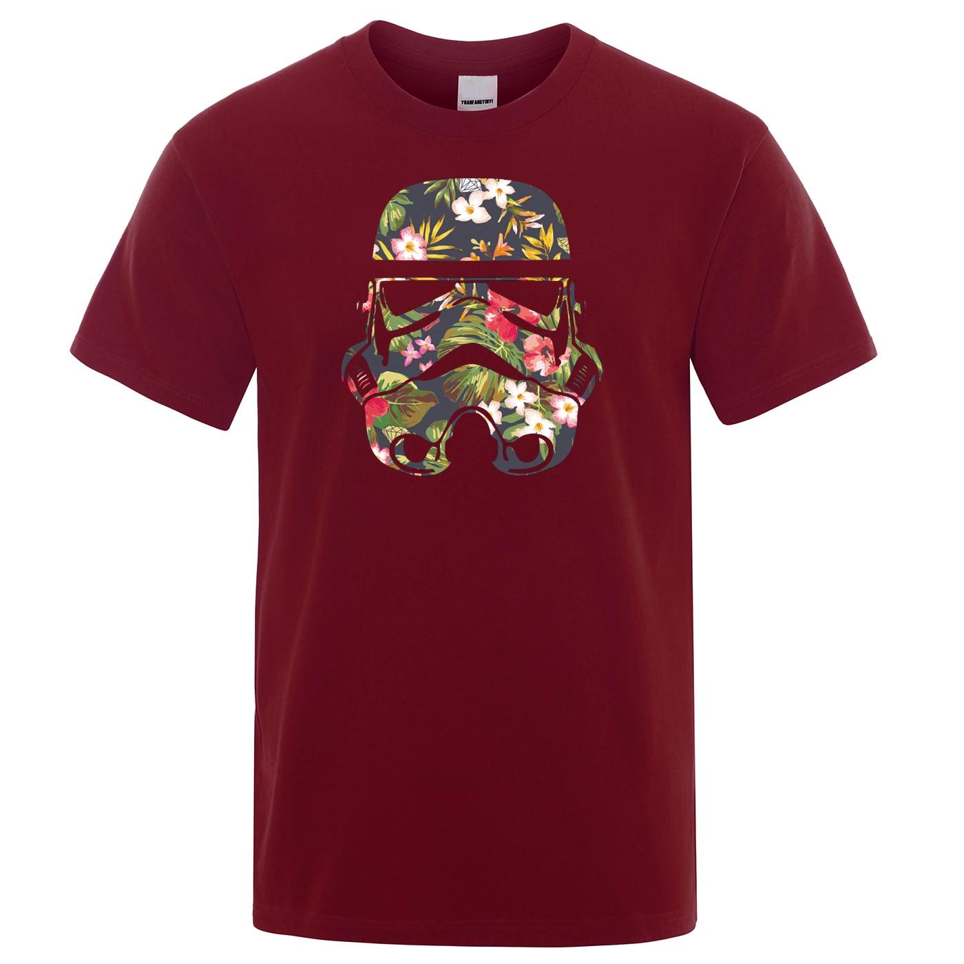 Star Wars Man T-Shirts Casual Streetwear Men's T Shirts Funny Hip Hop Male TShirt 2019 Summer High Quality Tops Men Tee Shirt