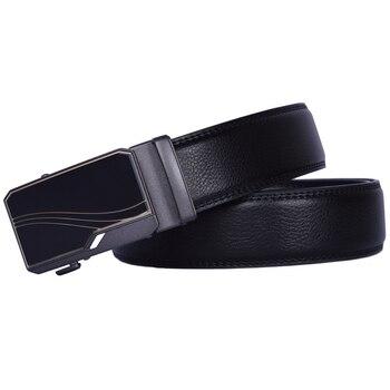 designer belt black genuine leather belt men luxury fashion automatic belt long ratchet belt work man belt belt matilde costa belt