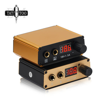 цена на LCD Tattoo Power Supply Professional Digital Dual Tattoo Power for Tattoo Machine