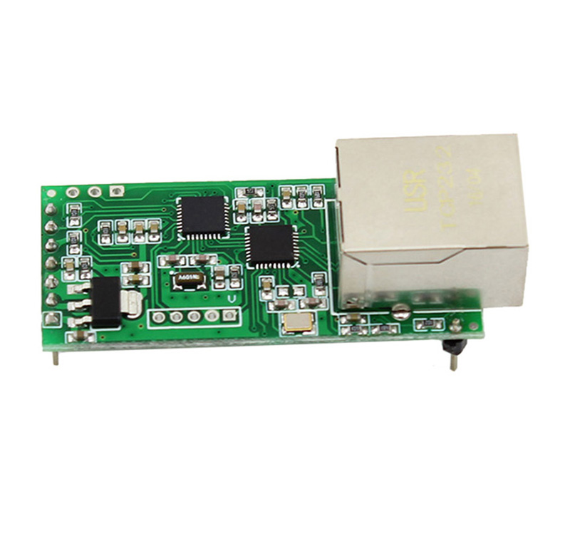 USR-TCP232-T2 TTL Serial To Ethernet Bidirectional USR-TCP232-T Upgrade Ethernet Module For IOT