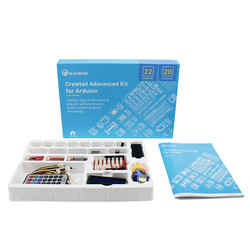 Elecrow Crowtail Upgrade Advanced Kit for Arduino DIY Programming Leaning Starters Kit for Building Projects Education Learner