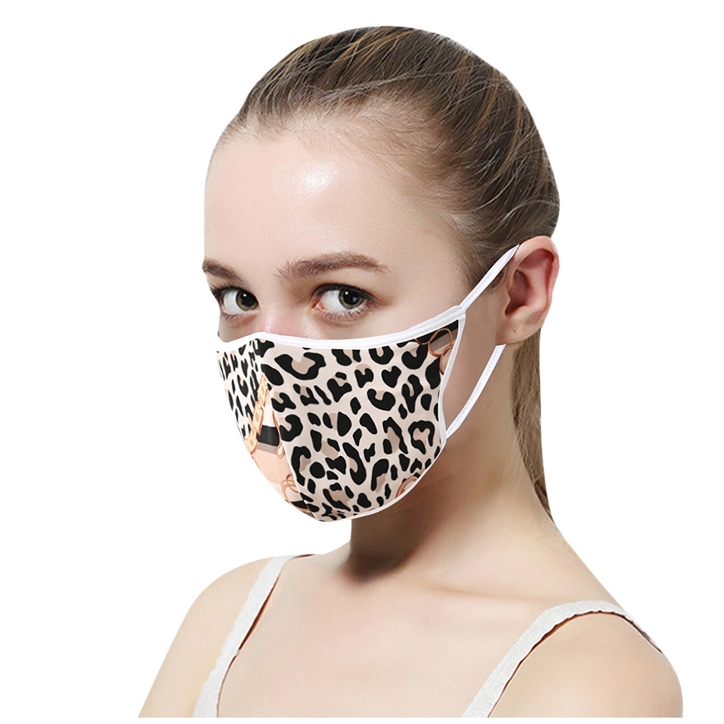H28575fa3a89b4fb69ab2f8fd2bce98614 In Stock Men Women Adult Outdoor Print Washable Print Breathable Face Cotton Mouth Reusable Earloop Mouth-muffle Health Care