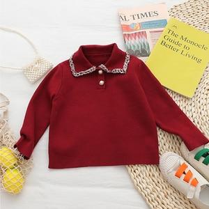 Image 4 - Babyinstar Kinder Kleidung Sets Für Mädchen Outfits 2020 Winter Mädchen Pullover Kinder Strickjacke + Rock Anzug Set Kinder Kleidung Set