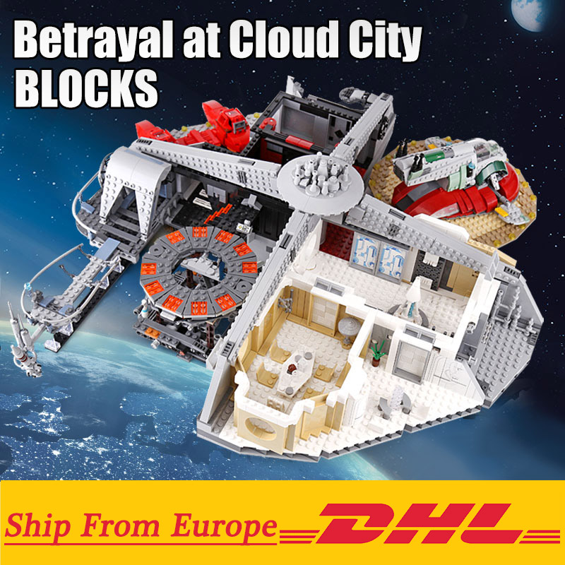 05151 Star Wars Betrayal at Cloud City Building Kit Blocks 3149pcs Bricks Compatible With Legoings Toy for Children 1