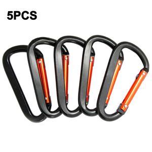 5PCS Large Carabiner Multi-fun