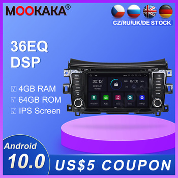 Android 10.0 4+64GB DVD player Radio GPS Navigation for NISSAN NP300 Navara Terra Multimedia Player Radio stereo player dsp isp image