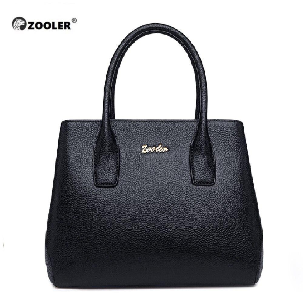 ZOOLER 2019 kobieta skórzana torba s kobiety znane marki luksusowe torebki torba ze skóry naturalnej torby na ramię zaprojektowany dużego ciężaru Bolsos # WG206 w Torby z uchwytem od Bagaże i torby na  Grupa 1
