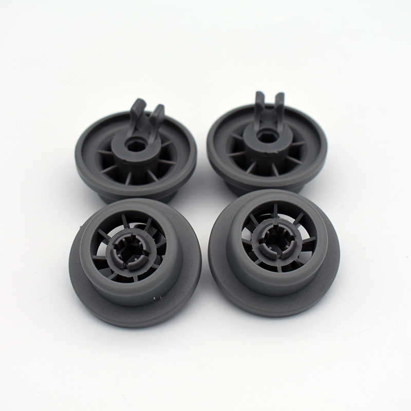 4x Dishwasher Lower Bottom Basket Roller Wheel For Bosch Neff /& Siemens 165314
