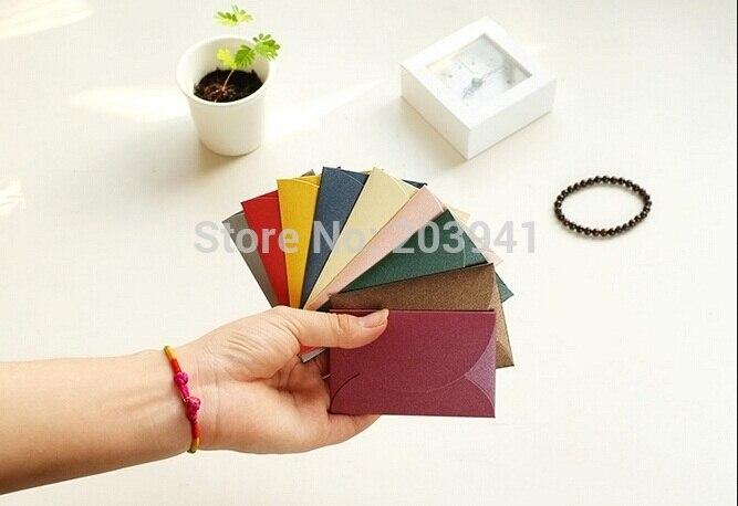 10pcs/lot Kawaii Vintage Mini Envelope Romantic Style Semi-circular Flip Envelope Gift Envelop