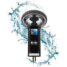 Submarinismo funda carcasa impermeable para DJI Osmo Pocket, estabilizador, flotabilidad, accesorio de barra flotante para natación y surf