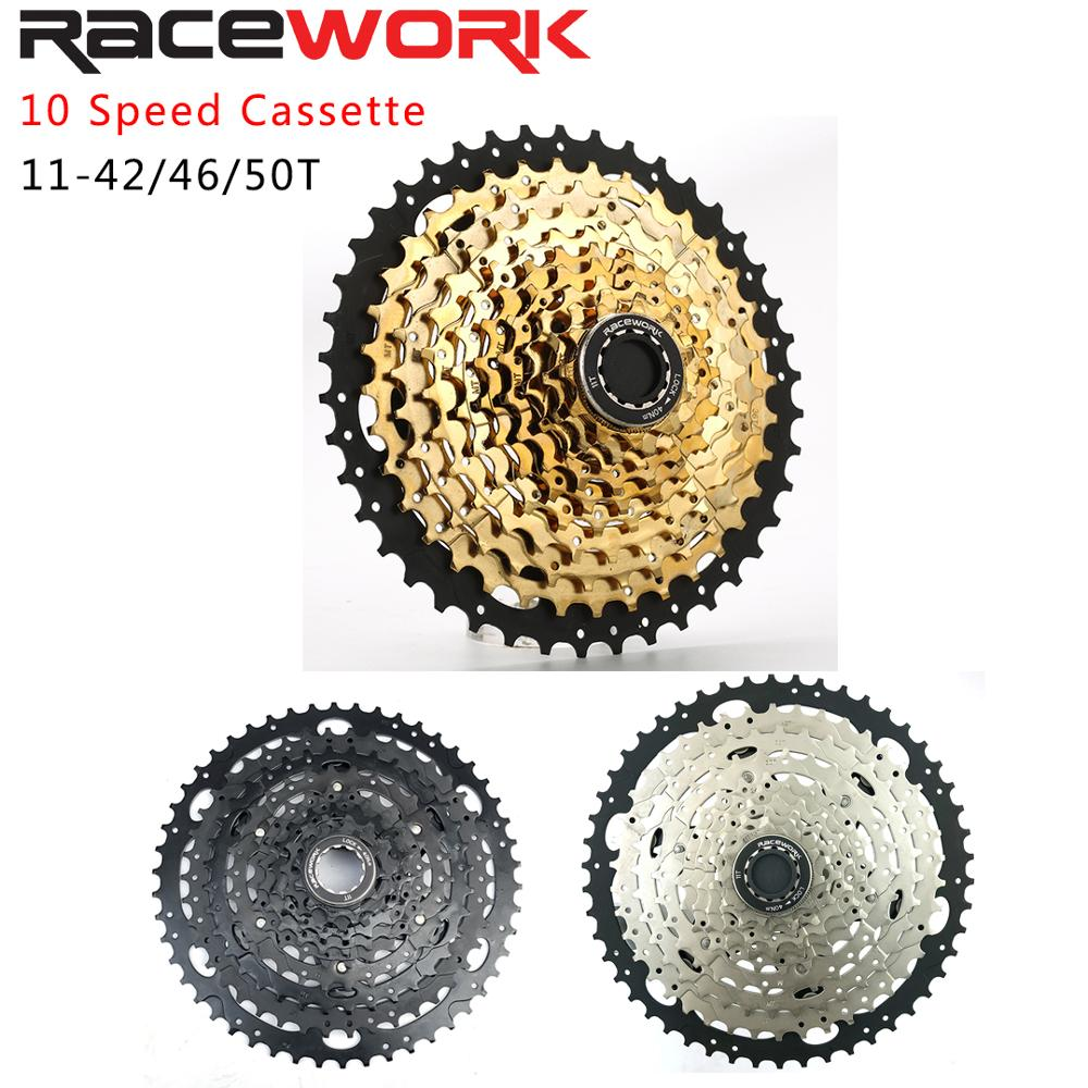 Racework 10-speed <font><b>11</b></font>-50T <font><b>CASSETTE</b></font> SPROCKET 10 s 20 s 30 s Flywheelbicycle compatible XT SLX XO X0 X9 X7 bicycle part image