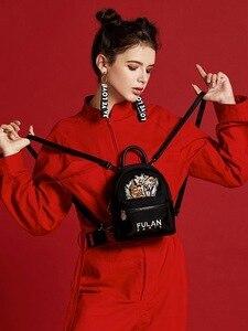 2020 новый маленький рюкзак, мини рюкзак, женская сумка, женская модная вышитая Высококачественная маленькая сумка, модный рюкзак-мессенджер