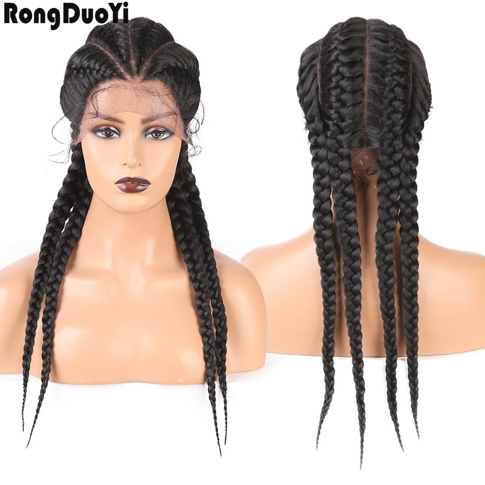 613 parte dianteira do laço perucas de cabelo humano Cor Trançado Sintético perruque brésiliens 360 laço frontal bob dianteira do laço loira perucas Para mulheres