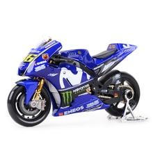 Maisto 1:18 2018 Gp Racing Yamaha Yzr M1 Factory Racing Team 46 #25 # Gegoten Voertuigen Collectible Motorfiets model Speelgoed